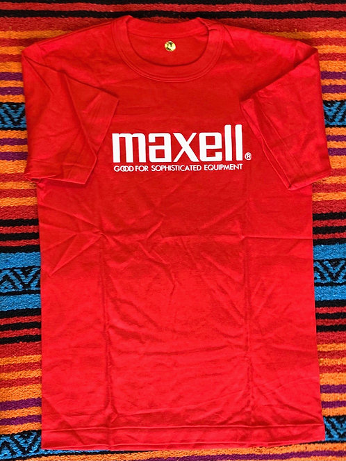 Vintage Deadstock Maxell T Shirt Size Large