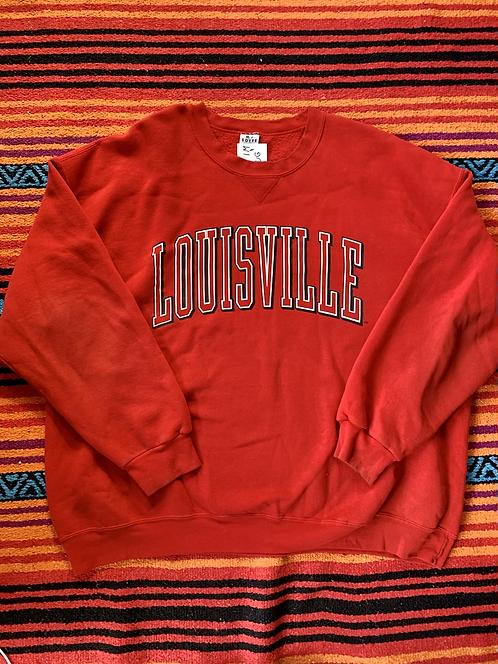 Vintage University of Louisville sweatshirt size 3XL