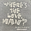 "Thumbnail: Vintage 90s Bud Light ""Where's the Love Man?"" distressed gray t-shirt size large"