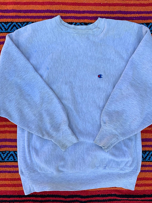 Vintage Reverse Weave Champion gray crewneck sweatshirt size XL