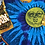 Thumbnail: Liquid Blue Sun and Moon shirt size XxL