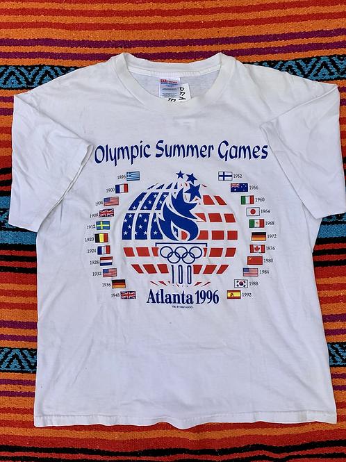 Vintage Summer Olympics 1996 T shirt size Large