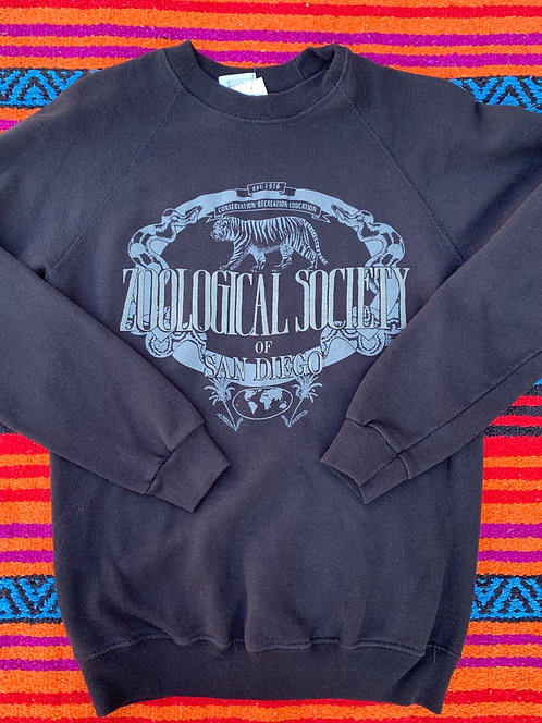 Vintage Zoological Society of San Diego sweatshirt size Large