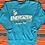 Thumbnail: Vintage Energizer Bunny turquoise sweatshirt size small
