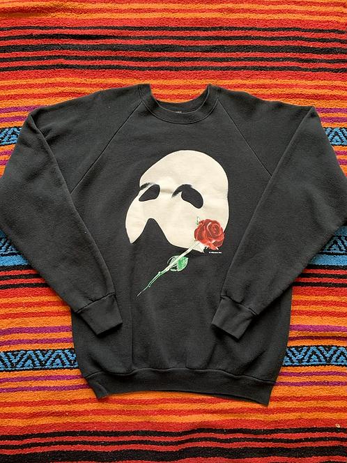 Vintage 1986 Phantom of the Opera black sweatshirt size large/XL