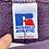 Thumbnail: Vintage blank faded purple Russell Athletics sweatshirt size large
