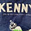Thumbnail: Vintage 1997 Comedy Central South Park Kenny navy t-shirt