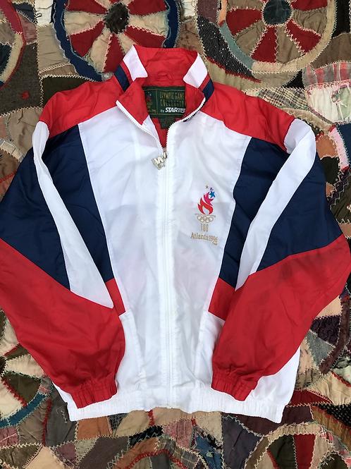 1996 Olympic USA Windbreaker size medium