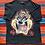 Thumbnail: Vintage 1996 Looney Tunes Taz black t-shirt size XXL