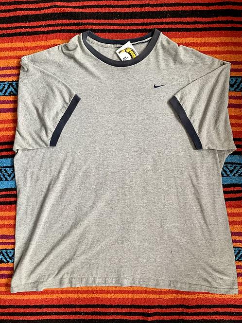 Vintage Nike gray ringer T shirt size XL