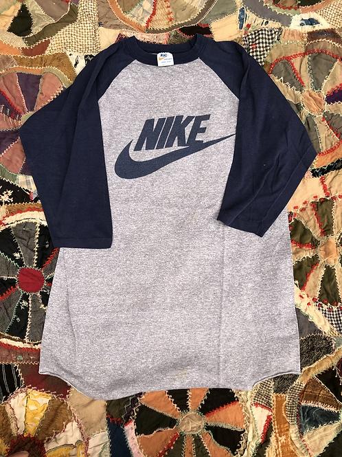 1970s Nike Raglan size Large