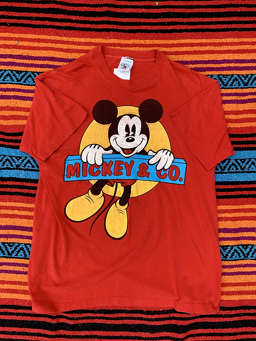 Vintage Mickey Mouse & Co T shirt size Large/XL