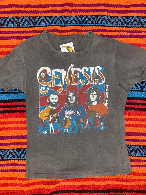 Vintage faded Genesis Tour 1978 T shirt size Small