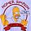 """Thumbnail: Vintage Homer Simpson """"Atomic Dad"""" white t-shirt size medium"""