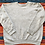 Thumbnail: Vintage 80's Heather Gray Raglan Sweatshirt Medium