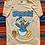 Thumbnail: Vintage Disney Donald Duck faded orange striped t-shirt size large