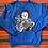 Thumbnail: Vintage blue rag doll sweatshirt size large
