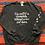 Thumbnail: Vintage funny cat paw print sweatshirt size XXL