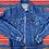 Thumbnail: Vintage dark wash Levi's denim jacket size Small