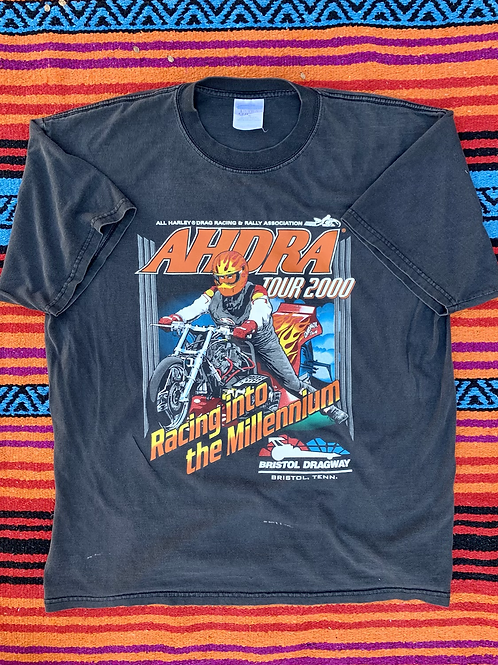 Vintage AHDRA tour 2000 faded t shirt size XL