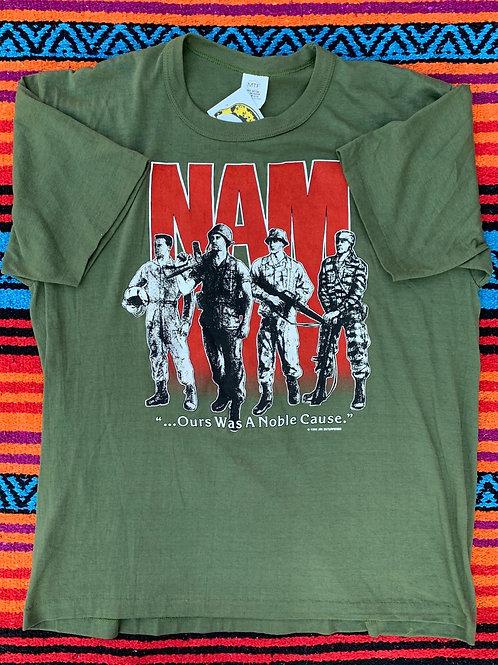 Vintage green Vietnam T shirt size XL