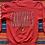 Thumbnail: Vintage University of Louisville Cardinals faded red sweatshirt size large