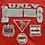 Thumbnail: Vintage University of Nevada Las Vegas Runnin' Rebels red sweatshirt size large
