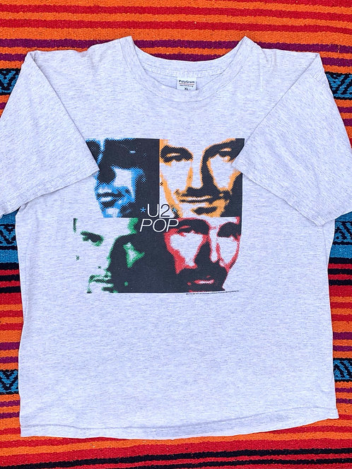 Vintage U2 Pop T shirt size XL