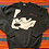 Thumbnail: Vintage Felix the Cat black sweatshirt size XL
