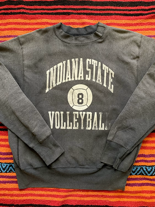 Vintage Indiana State Basketball faded sweatshirt size XL