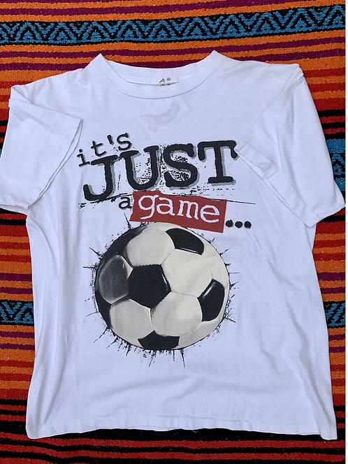 Vintage soccer T shirt size large