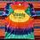 Thumbnail: Vintage Crayola Factory rainbow tie-dye t-shirt size large