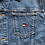 Thumbnail: Vintage Tommy Hilfiger Jeans dark wash denim jacket size large/XL