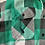 Thumbnail: Vintage green and gray button down flannel size medium