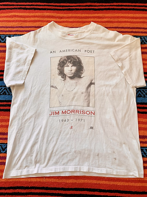 Vintage 1994 Jim Morrison An American Poet Shirt XL