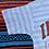 Thumbnail: Vintage striped Indiana University T shirt size Large