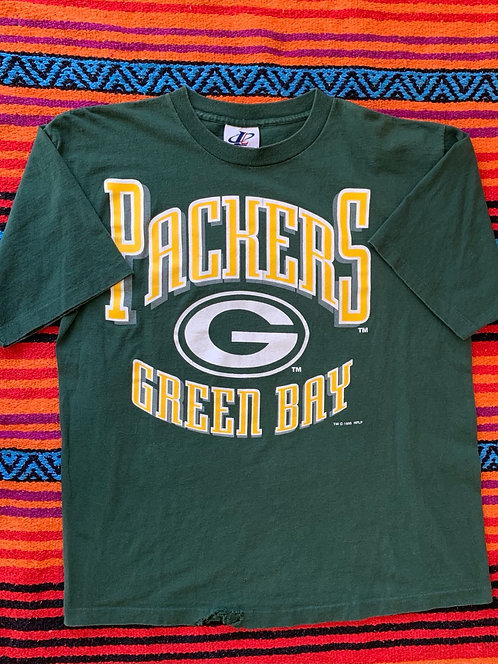Vintage Green Bay Packers T shirt size Large