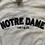 Thumbnail: Vintage Champion Notre Dame Reverse Weave Sweatshirt L