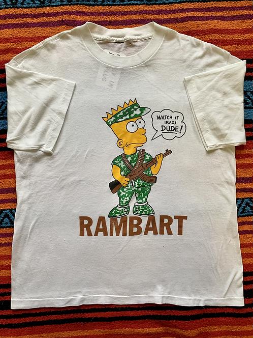 Vintage Bootleg Rambo Bart L