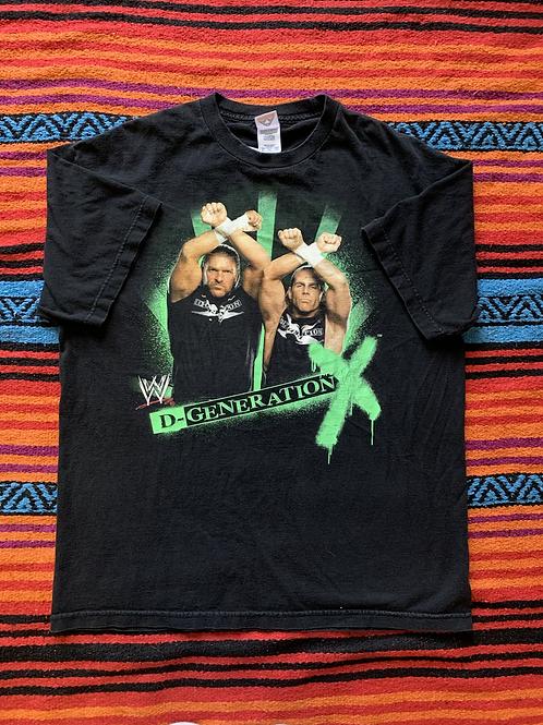 Vintage WWE D-Generation black t-shirt size XL