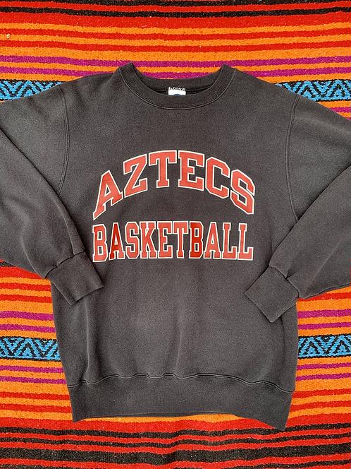Vintage Aztec Basketball Champion sweatshirt size large
