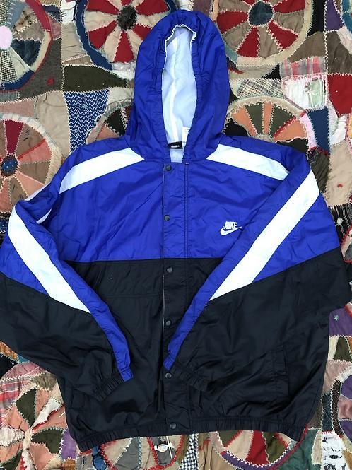Nike hooded Windbreaker size XL