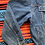 Thumbnail: Vintage 80s Highlander embroidered denim jacket size XXL