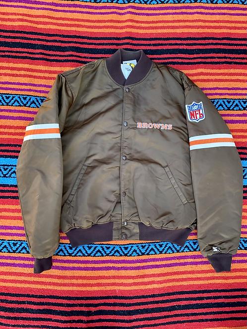 Vintage NFL Cleveland Browns Starter varsity jacket size large/XL
