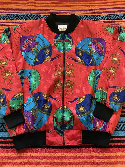 Vintage Hermès Bomber Jacket XL