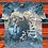 Thumbnail: Vintage Doors blue tie-dye t-shirt size large/XL