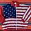 Thumbnail: Vintage American flag windbreaker size XL