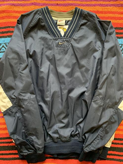 Vintage Nike Center-Check Pullover Jacket M