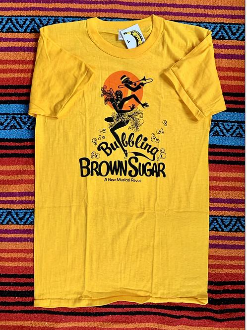 Vintage Bubbling Brown Sugar t shirt size large