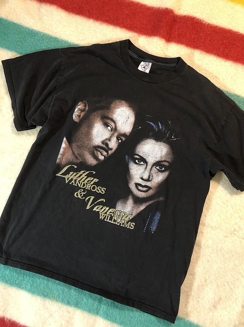 1997 Luther Vandross and Vanessa Williams tee XL